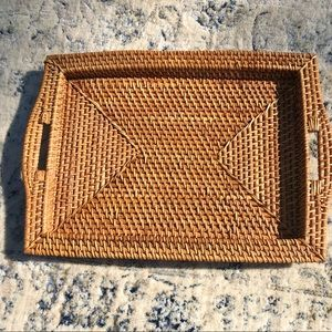 Wicker Tray 🌼
